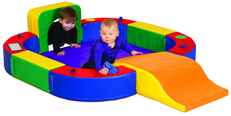 ECR4Kids ELR-12637 Softzone¨ Discovery Center w/ Tunnel & Slide