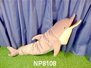 "24"" Dolphin Puppet Atlantic Common - Peazz Toys"