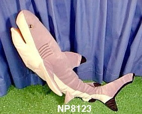 "24"" Shark Puppet Black Tip Reef - Peazz Toys"