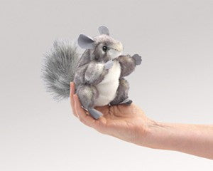 Folkmanis 2759 Mini Chinchilla - Peazz Toys