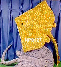 "24"" Sting Ray Puppet Common Skate - Peazz Toys"