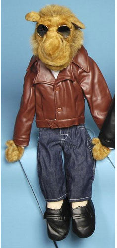 28 Camel w Brown Leather Jacket GS4801