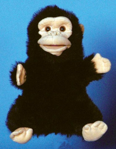 "12"" Chimp Glove Puppet - Peazz Toys"