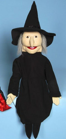 "28"" Witch Puppet - Peazz Toys"