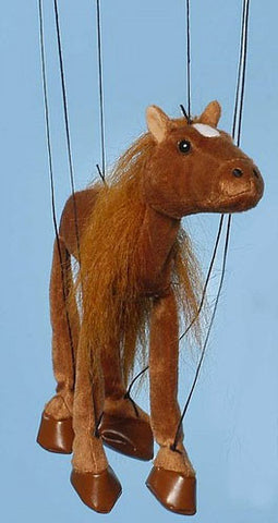 "38"" Brown Horse Marionette WB952A - Peazz Toys"