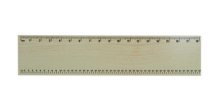 Guidecraft G6517 Ruler Natural - Peazz Toys