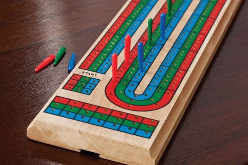 Mainstreet Classic 55-0106 Mainstreet Classics Cribbage Board