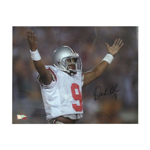 Autographed David Boston Unframed Celebration 16x20 Photo - Peazz Toys