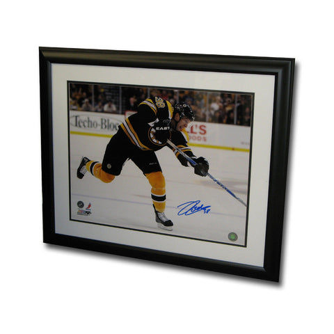 Autographed Jordan Caron of the Boston Bruins 16x20 inch framed Photo - Peazz Toys