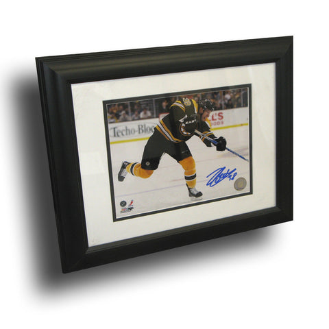 Autographed Jordan Caron of The Boston Bruins 8X10 Framed Photo. - Peazz Toys