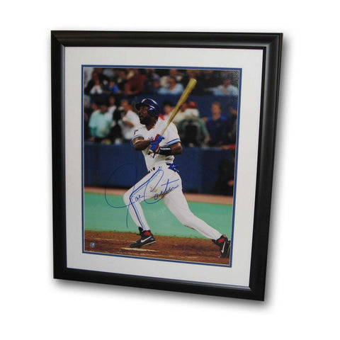 Autographed Joseph Carter 16x20 Framed World Series Swing Photo - Peazz Toys
