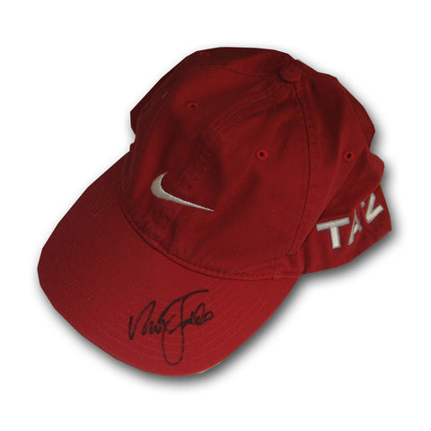Autographed Nick Faldo Game Used Hat - Peazz Toys