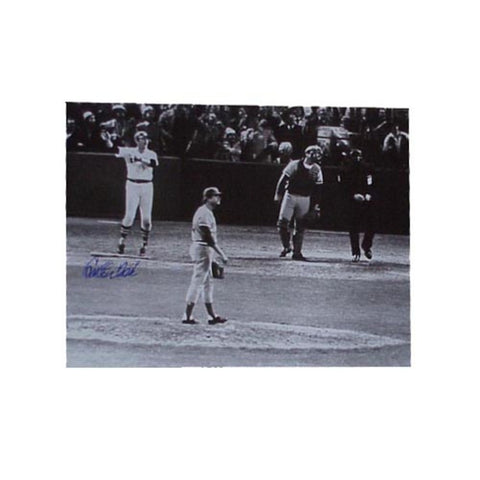 "Autographed Carlton Fisk 16X20 Photo ""1975 World Series"" (MLB Authenticated) - Peazz Toys"