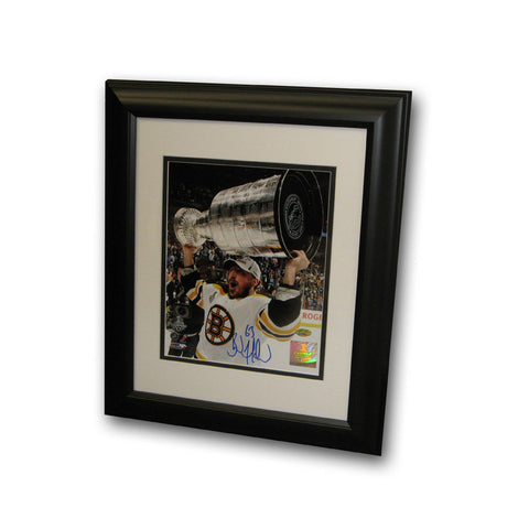 Autographed Brad Marchand 8-by-10 inch framed Boston Bruins photo. - Peazz Toys