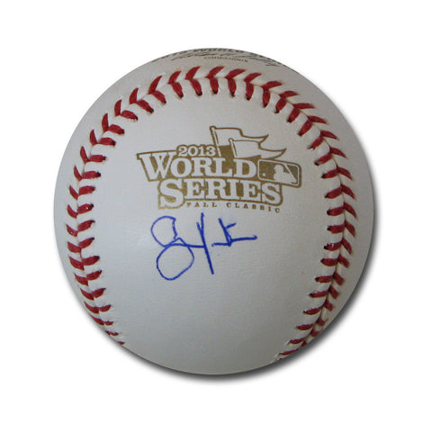 Autographed Shane Victorino 2013 World Series Baseball - Peazz Toys
