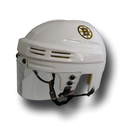 Official NHL Licensed Mini Player Helmets - Boston Bruins (White) - Peazz Toys
