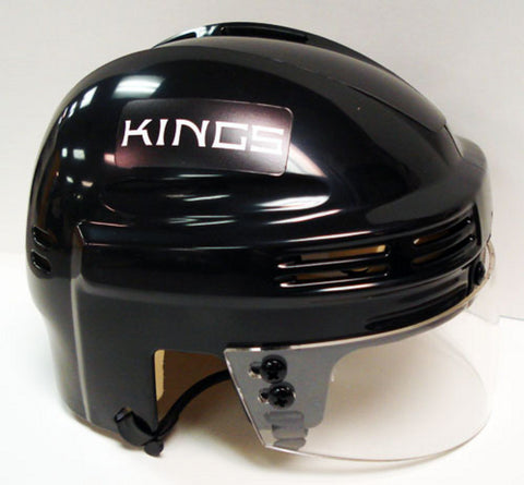 Official NHL Licensed Mini Player Helmets - LA Kings - Peazz Toys