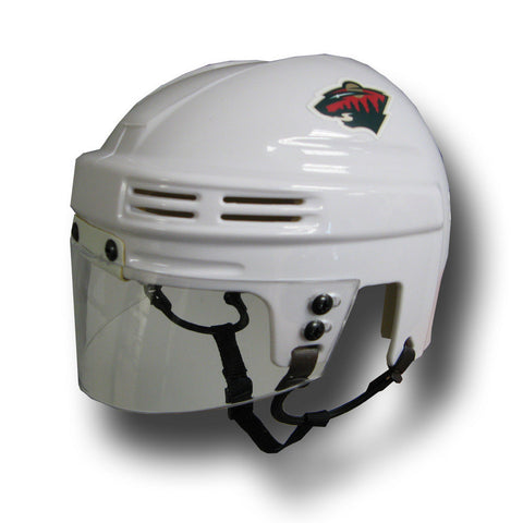 Official NHL Licensed Mini Player Helmets - Minnesota Wild (White) - Peazz Toys