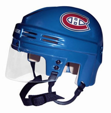 Official NHL Licensed Mini Player Helmets - Montreal Canadiens - Peazz Toys