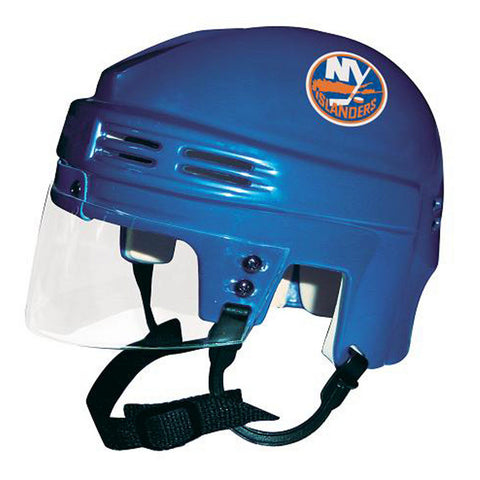 Official NHL Licensed Mini Player Helmets - Ny Islanders - Peazz Toys