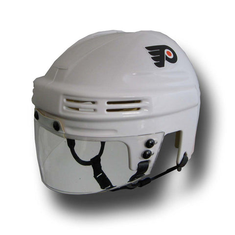 Official NHL Licensed Mini Player Helmets - Philadelphia Flyers (White) - Peazz Toys