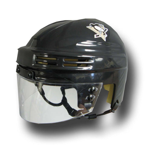 Official NHL Licensed Mini Player Helmets - Pittsburgh Penguins - Peazz Toys