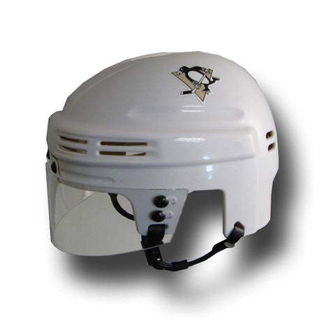 Official NHL Licensed Mini Player Helmets - Pittsburgh Penguins (White) - Peazz Toys
