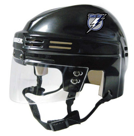 Official NHL Licensed Mini Player Helmets - Tampa Bay Lightning - Peazz Toys