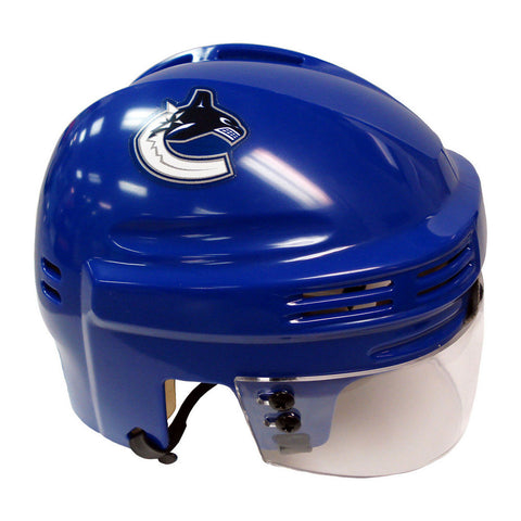 Official NHL Licensed Mini Player Helmets - Vancouver Canucks - Peazz Toys