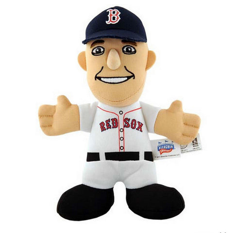"Bleacher Creatures 7"" Plush Figure - Boston Red Sox Dustin Pedroia - Peazz Toys"