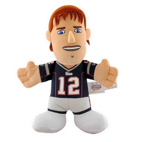"Bleacher Creatures 7"" Plush Figure - New England Patriots Tom Brady - Peazz Toys"