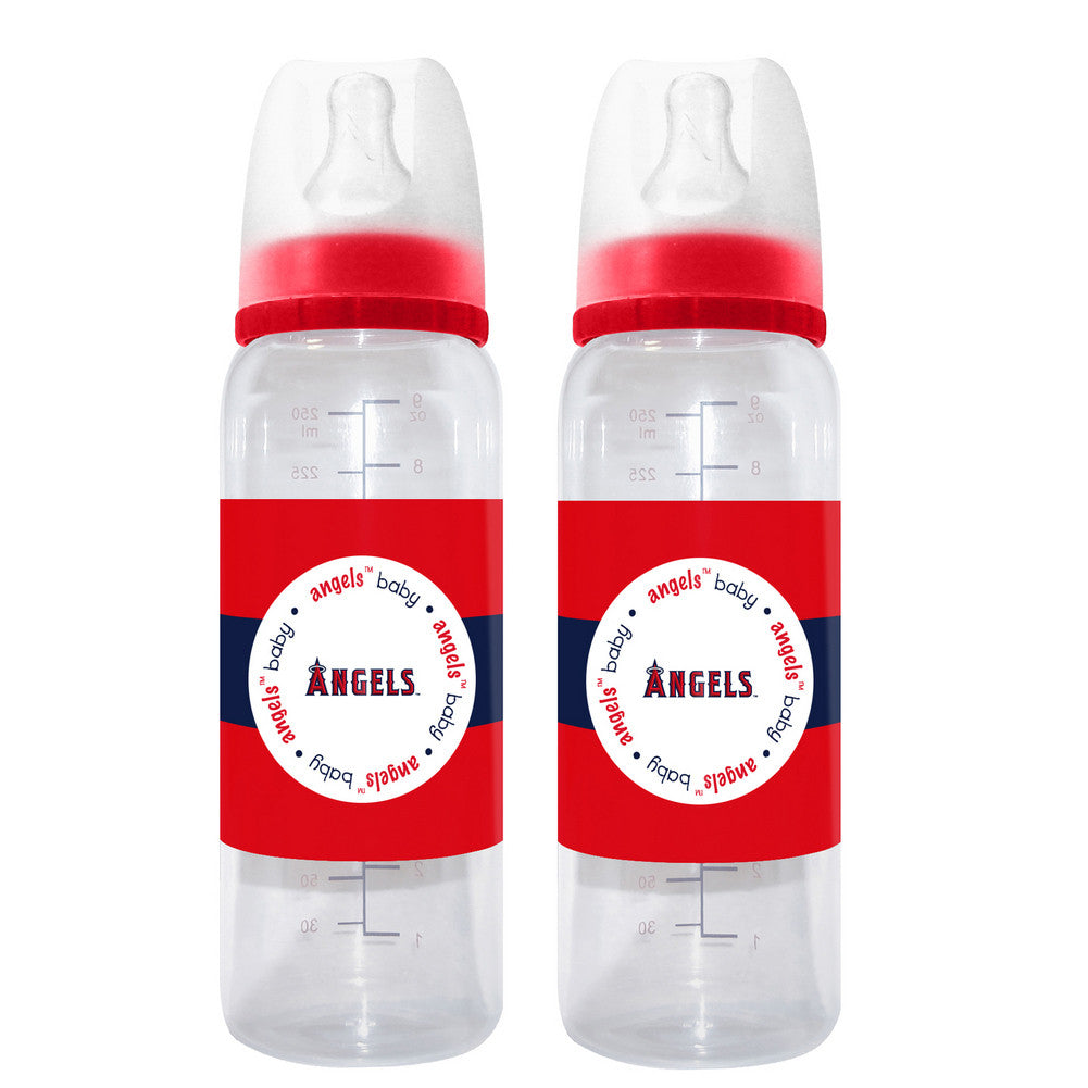 2 Pack of Baby Bottles Los Angeles Angels of Anaheim