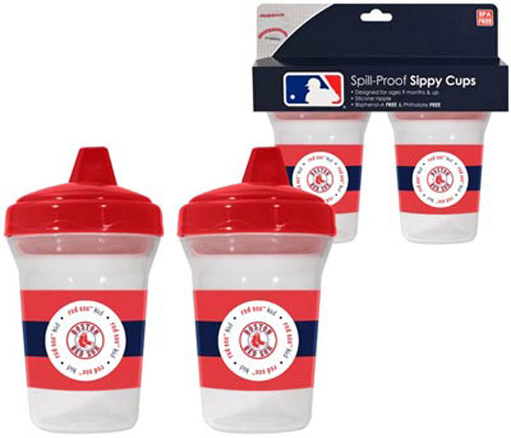 2 Pack Sippy Cups Boston Red Sox