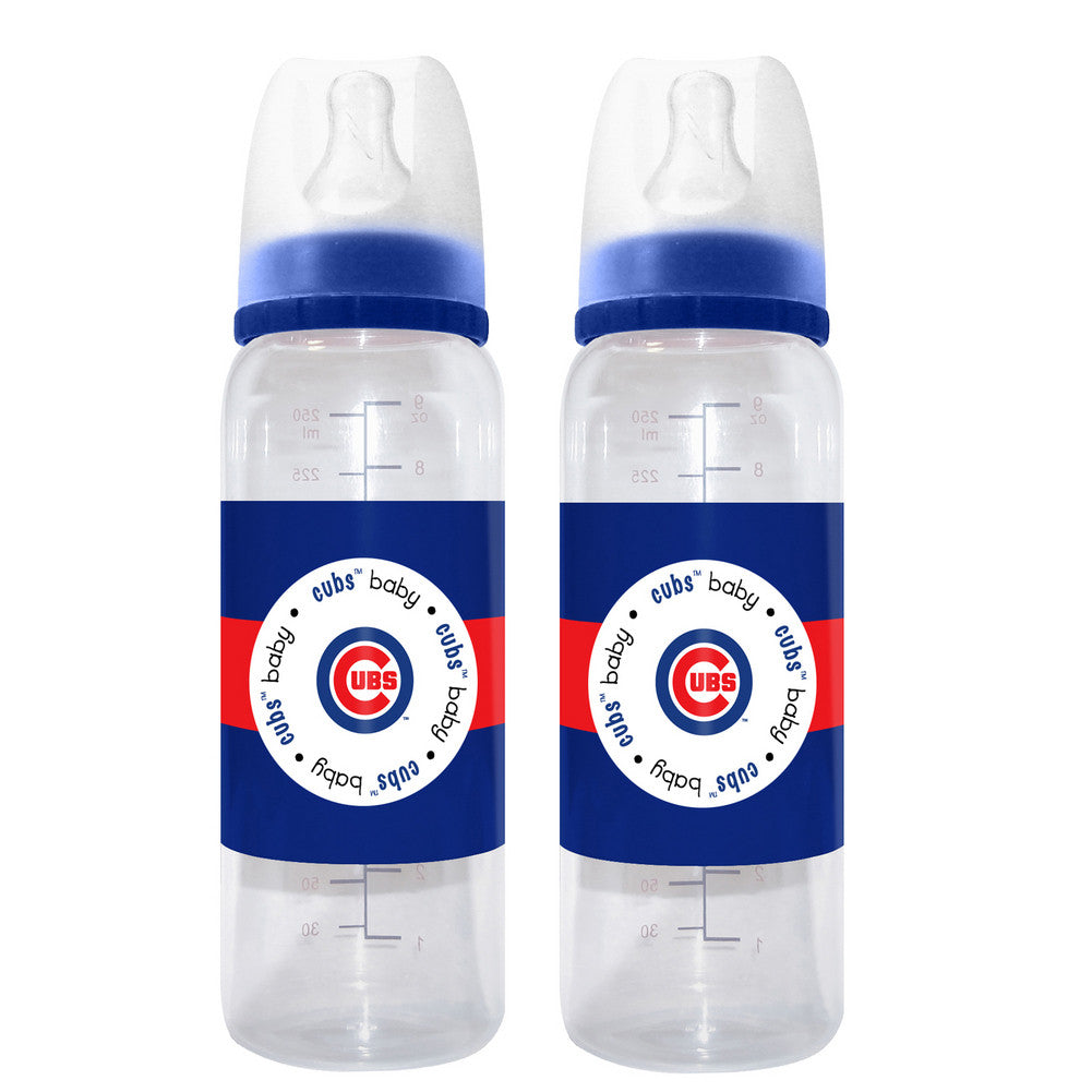 2 Pack of Baby Bottles Chicago Cubs