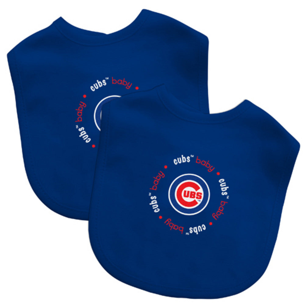 2 Pack Baby Fanatic Bib Chicago Cubs