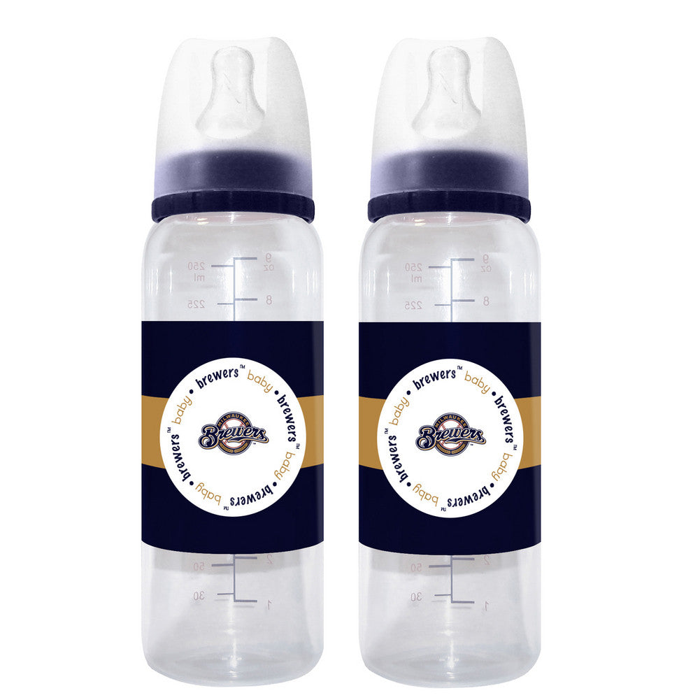 2 Pack of Bottles Milwaukee Brewers