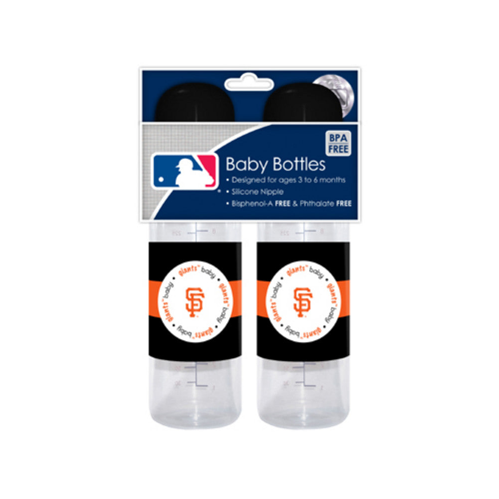 2 Pack of Baby Bottles San Francisco Giants