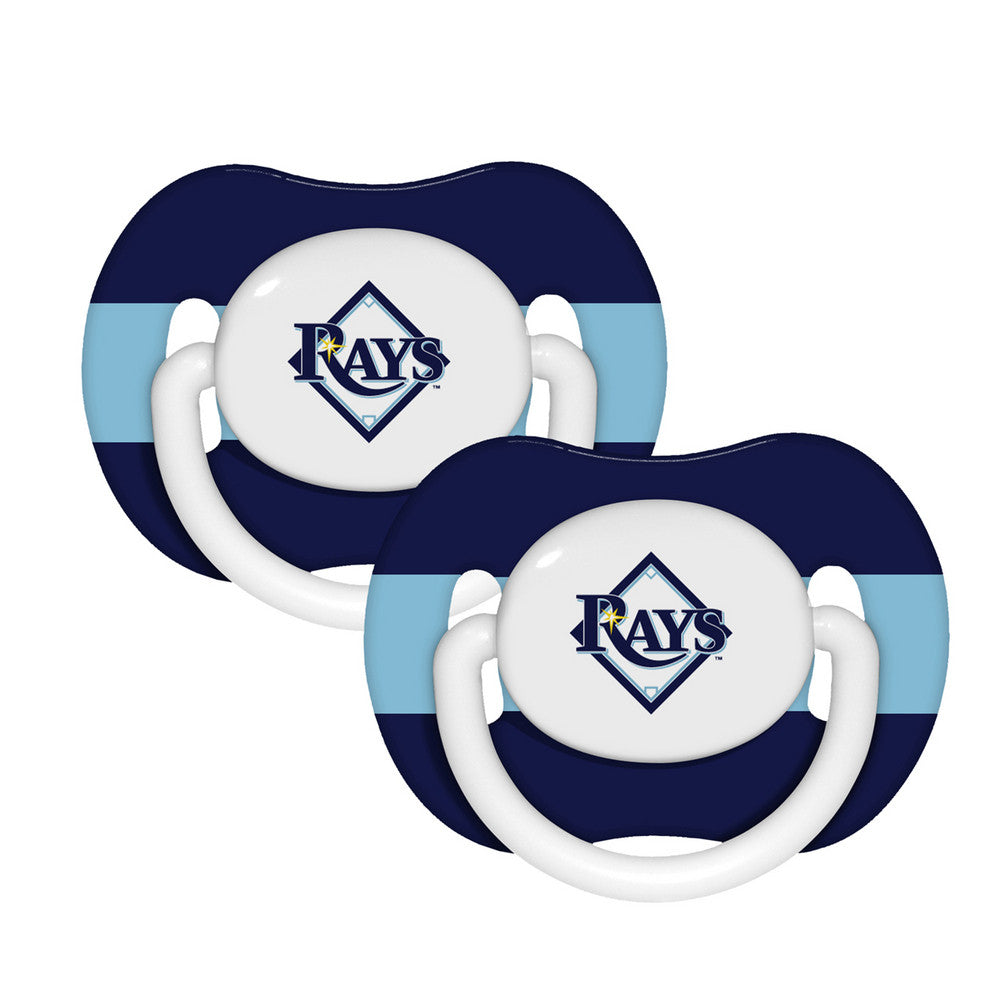 2 Pack Pacifiers Tampa Bay Rays