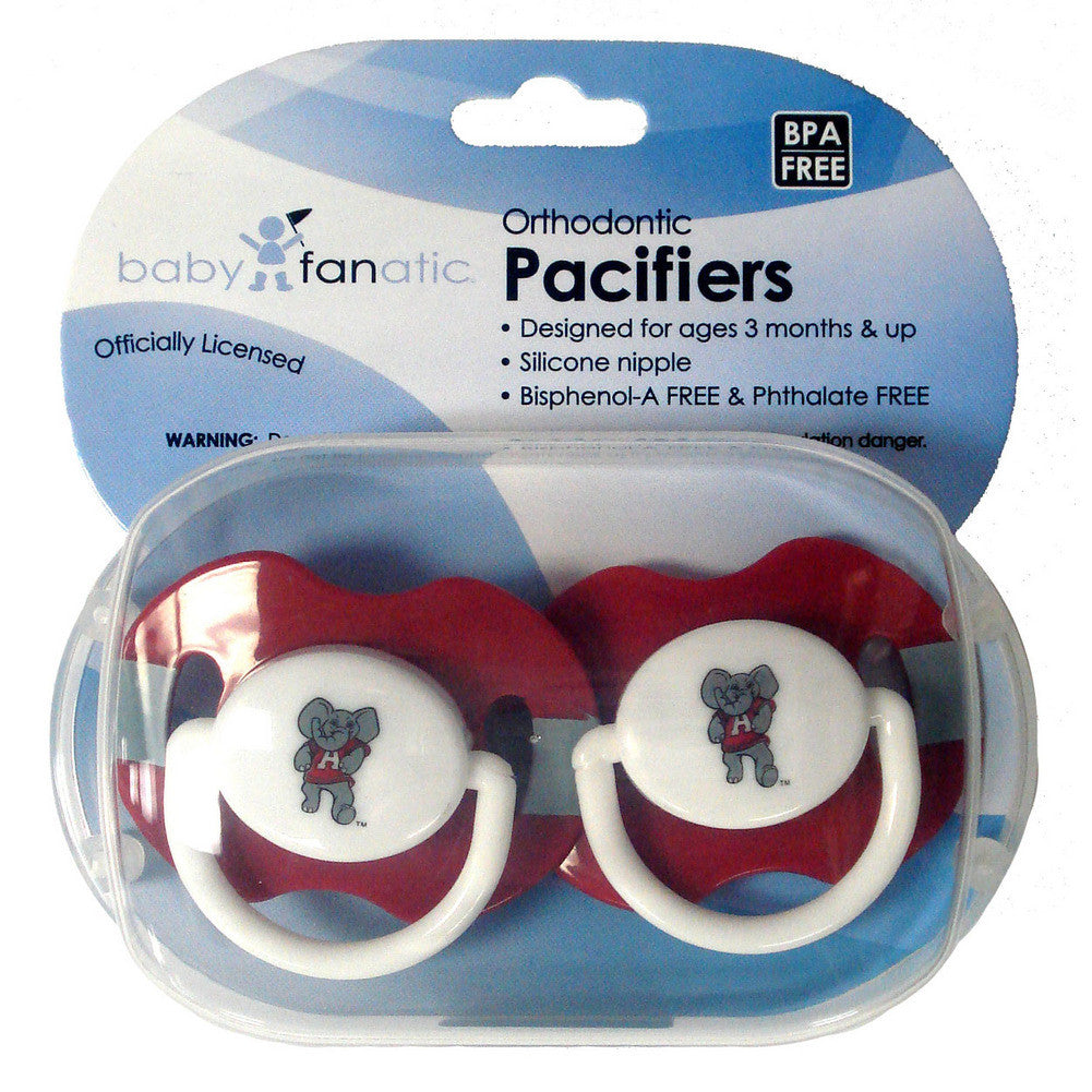 2 Pack Pacifiers Alabama