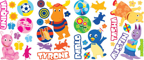 Backyardigans Peel & Stick Wall Decals (RMK1912SCS) - Peazz Toys