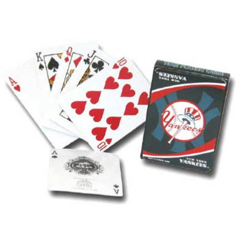 MLB Team Playing Cards - Yankees - Peazz Toys