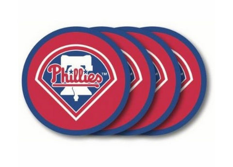 Philadelphia Phillies Coasters Set of 4 - Peazz Toys