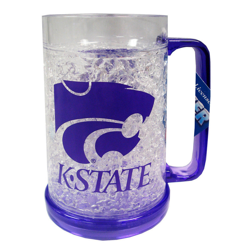 NCAA Kansas State Wild Cats 16oz Crystal Freezer Flared Mug