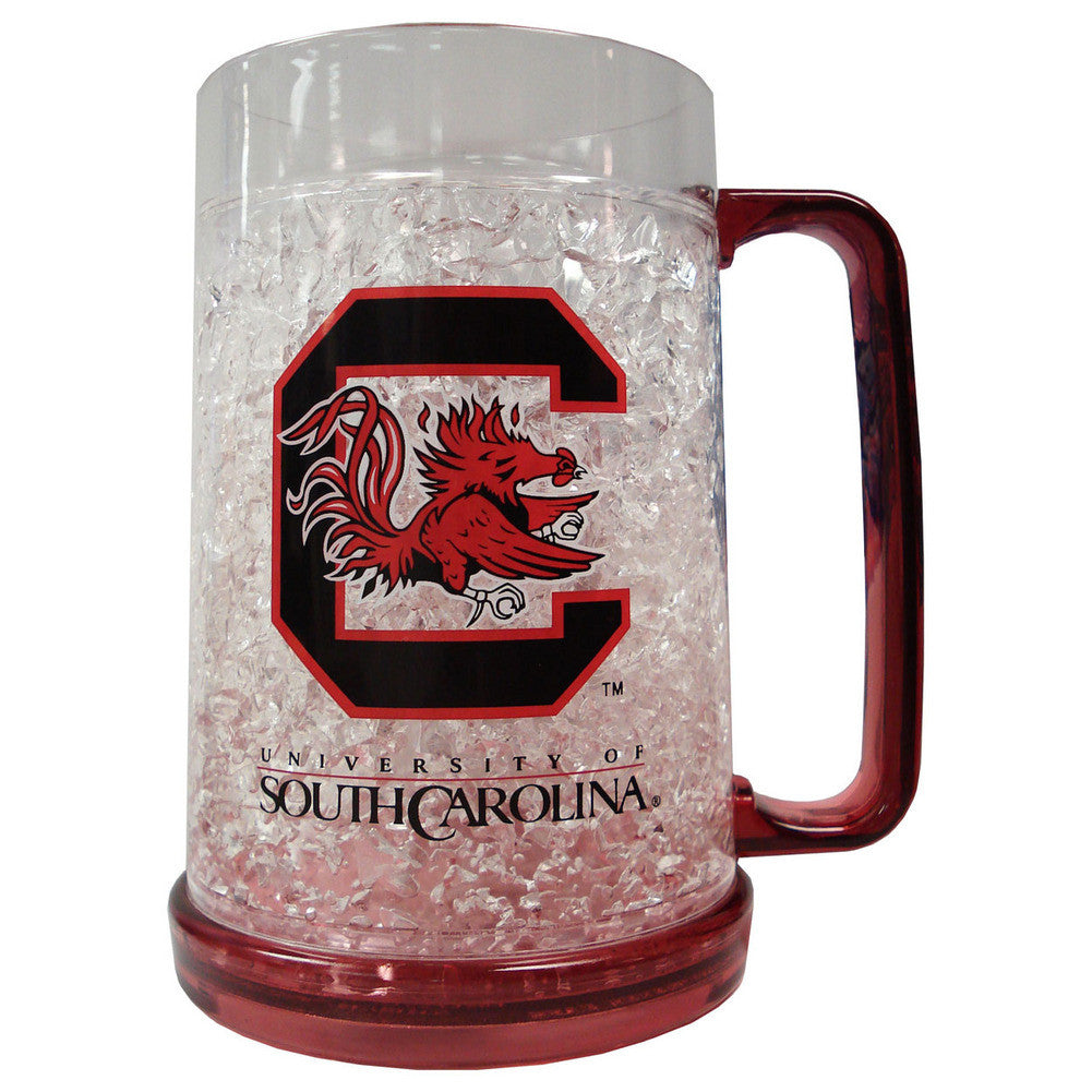 16Oz Crystal Freezer Mug University of South Carolina Gamecocks