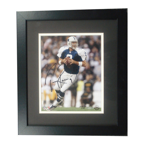 Autographed Tony Romo 8-By-10-Inch Framed - Peazz Toys