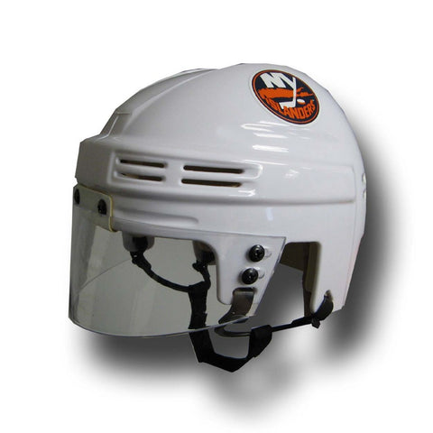 Official NHL Licensed Mini Player Helmets - Ny Islanders (White) - Peazz Toys