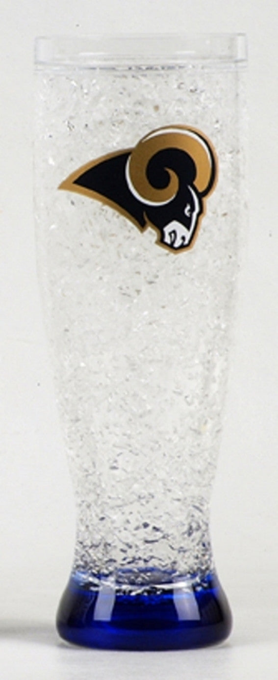 16Oz Crystal Freezer Pilsner NFL Saint Louis Rams