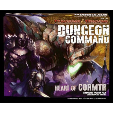 D&D Dungeon Command: Heart of Cormyr (Skirmish Battle Game) - Peazz Toys