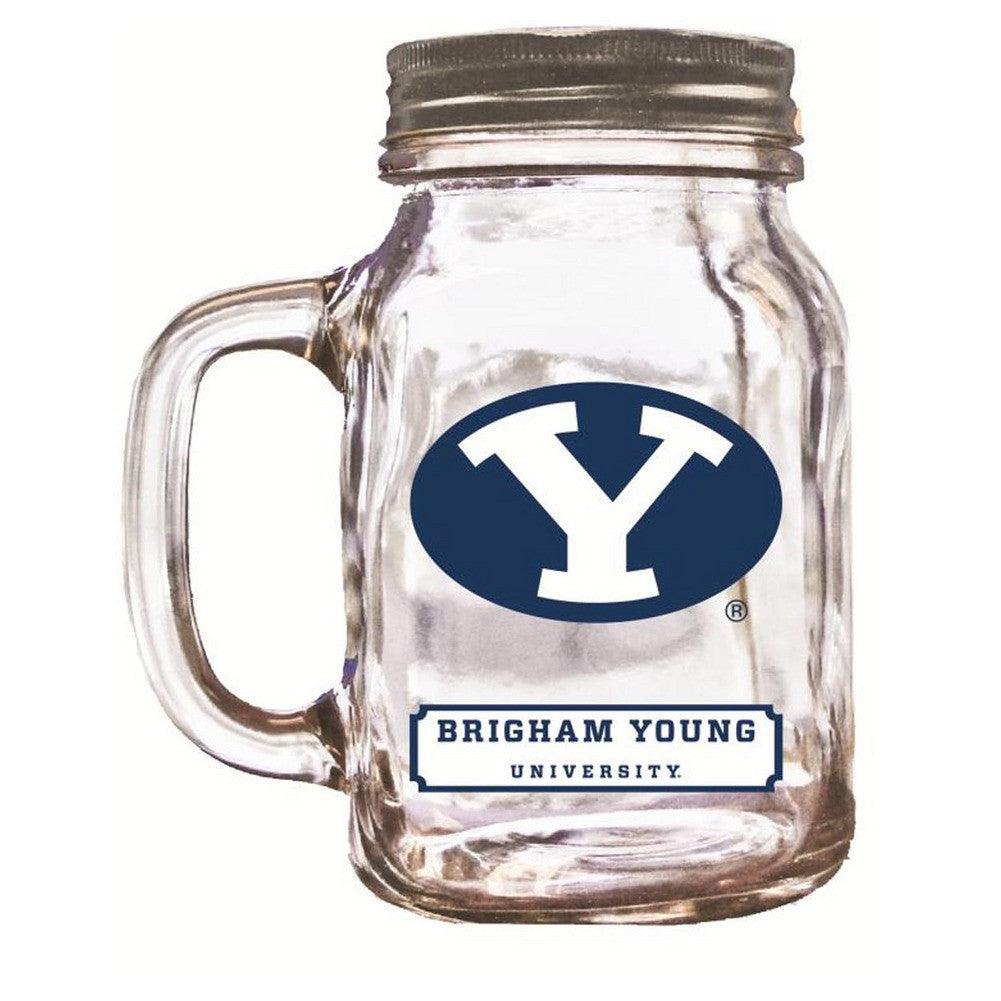 16Oz Mason Jar Byu