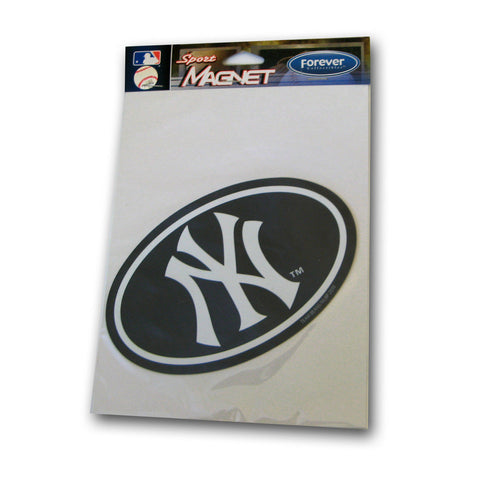 Car Magnet Navy - New York Yankees - Peazz Toys